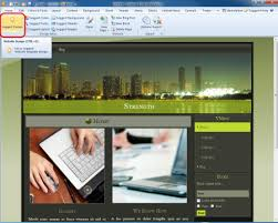 drupal theme created with artisteer