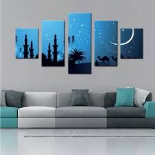 Simple Wall Paintings For Living Room Online Get Cheap Simple Islamic Art Aliexpress Com Alibaba Group