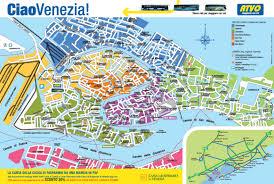 Venice Map Of Venice Italy