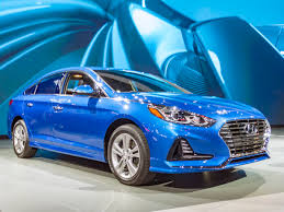 hyundai compact cars 2018 hyundai sonata refreshed kelley blue book