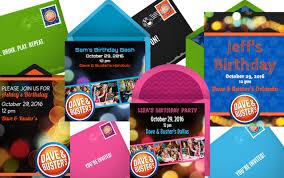 dave u0026 buster u0027s kids u0027 birthday party venues