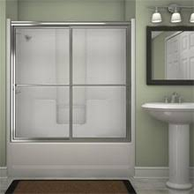transforming an old shower by installing a new glass shower door