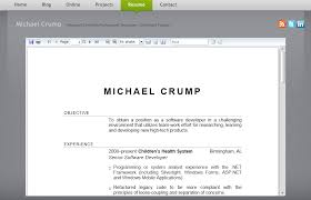 How To Build A Resume Website The Muse Easy Online Resume Builder Create Or Upload Your