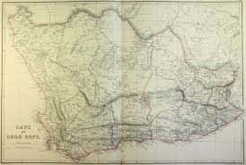 Good Map Map Of South Africa And The Cape Of Good Hope 1860