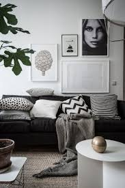 Black White And Gold Living Room by Best 25 Scandinavian Living Ideas On Pinterest Scandinavian