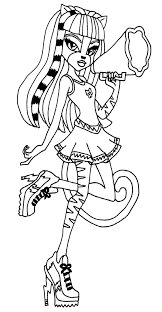 229 best monster high coloring page images on pinterest coloring