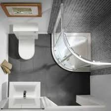 Narrow Toilet Corner Shower  Flat Back Pedestal Bathroom - Small square bathroom designs