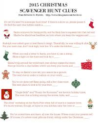 delightful christmas gift treasure hunt part 1 scavenger hunt