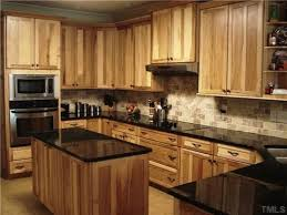 What Countertops Go With Hickory Cabinets Google Search Kitchen