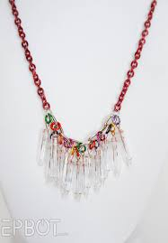 christmas light necklace epbot don t throw out christmas lights turn them into jewelry