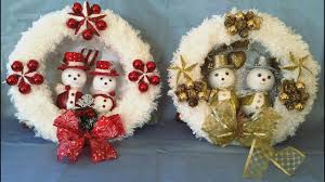 fantastic christmas wreath easy to make youtube