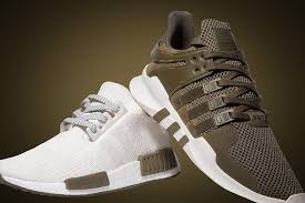 champs black friday sale adidas nmd chalk and olive champs sports exclusive sneakernews com