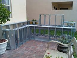 stunning build your own outdoor kitchen also diy modern and bar