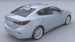 mazda sedan models list mazda 3 sedan car4arch vol1 3d cgtrader