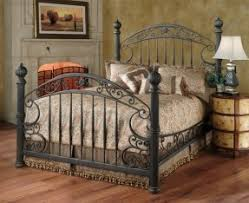 Iron And Wood Headboards by Wrought Iron King Size Headboards Foter