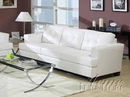 Davis Sleeper Sofa Eye Catching White Leather Sleeper Sofa Bonners Furniture
