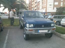 volkswagen truck diesel 1990 toyota hilux vw taro doka double cab turbo diesel 4 4 truck