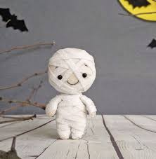Haunted Halloween Gift by Halloween Decor Mummy Spooky Cute Felt Toy Halloween Gift Baby