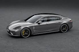 new porsche 4 door 2017 porsche panamera gains long wheelbase executive variants