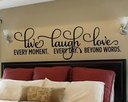master bedroom wall decals bedroom wall decal etsy