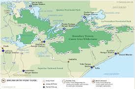 Fort Wilderness Map Boundary Waters Canoe Area Wilderness Bwca Canoe Trip Guide