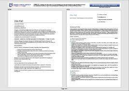 professional examples of resumes professional cv writing services the cv centre