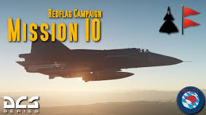 The Red Flag Campaign Ajs 37 Viggen 16 2 Red Flag Campaign Mission 10 Youtube