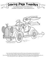 dulemba coloring tuesday peter cottontail