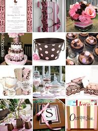 pink and brown baby shower pink brown shower inspiration brown monograms and babies