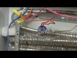 ge refrigerator defrost thermostat replacement wr50x10068 youtube