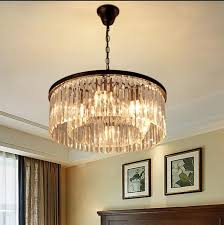 Drum Chandelier Lighting Drum Chandelier Crystal Post Modern 3 Lights Modern Home Crystal
