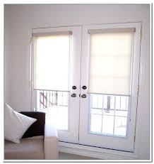 Patio Door Window Panels French Door Panels Window Treatments Roller Blinds For French