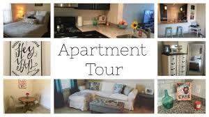 apartment tour farmhouse southern style decor youtube