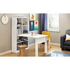 Craft Desk With Storage South Shore Artwork Craft And Sewing Machine Table With Storage