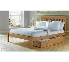 buy collection aspley small double bed frame oak stain at argos