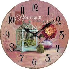 compare prices on rose wall clocks online shopping buy low price