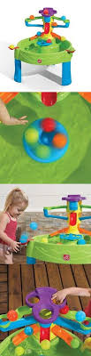 step2 busy ball play table step 2 52344 water play table for kids plastic splish