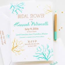 theme bridal shower invitations 2 custom invitations