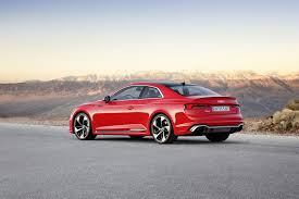 audi rs5 coupe 2018 audi rs5 coupe goes bmw baiting slashgear