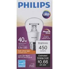 Philips Landscape Light Bulbs by Philips Warm Glow A15 Medium Dimmable Led Light Bulb 462523 Do