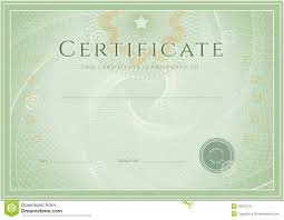 free templates for certificates of completion free voucher template