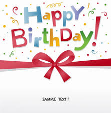 free happy birthday greeting card vector free vector graphics
