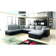 canapé d angle noir et gris canape d angle grand 10 places canapa sofa divan canapac u alta 2