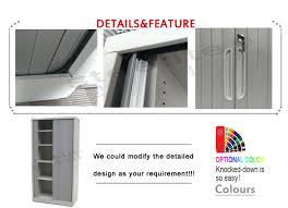 Shutter Door Cabinet China Supplier Plastic Roller Shutter Door Cabinet Office Steel