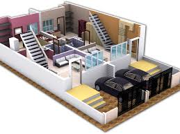 design ideas 48 3d small house building plan residence with