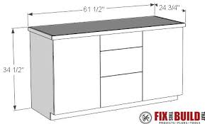 How To Build A Cabinet Box How To Build A Base Cabinet With Drawers Fixthisbuildthat