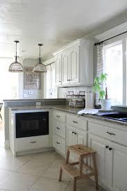 cream kitchen cabinets with white trim kitchen decoration