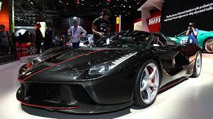 ferrari prototype 2016 laferrari aperta open top hypercar debuts at 2016 paris motor show