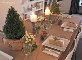 Christmas Paper Table Decoration by Dinner Party Table Setting Set The And Mood Cakes Settings Tables