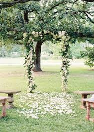 wedding arch garden fig and neutral garden wedding inspired by